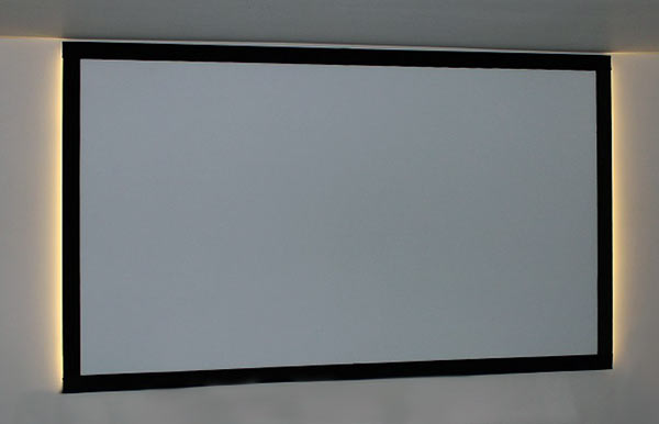 Building A Fixed Frame Screen Psm Screens Projector Screen